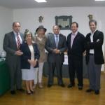 Autoridades provinciales en Lomas