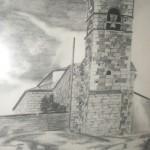 Dibujo de la Torre por Iñigo Porro Garmendia