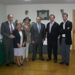 Autoridades en la exposición