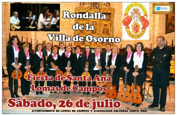 Cartel Rondalla Villa de Osorno