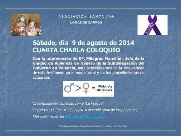 Charla-Coloquio 2014