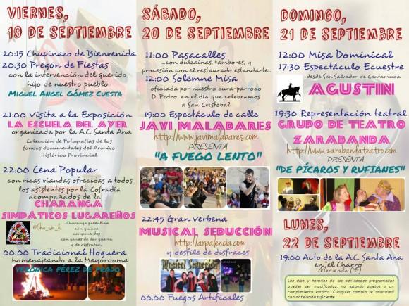 Programa de Fiestas 2014 interior