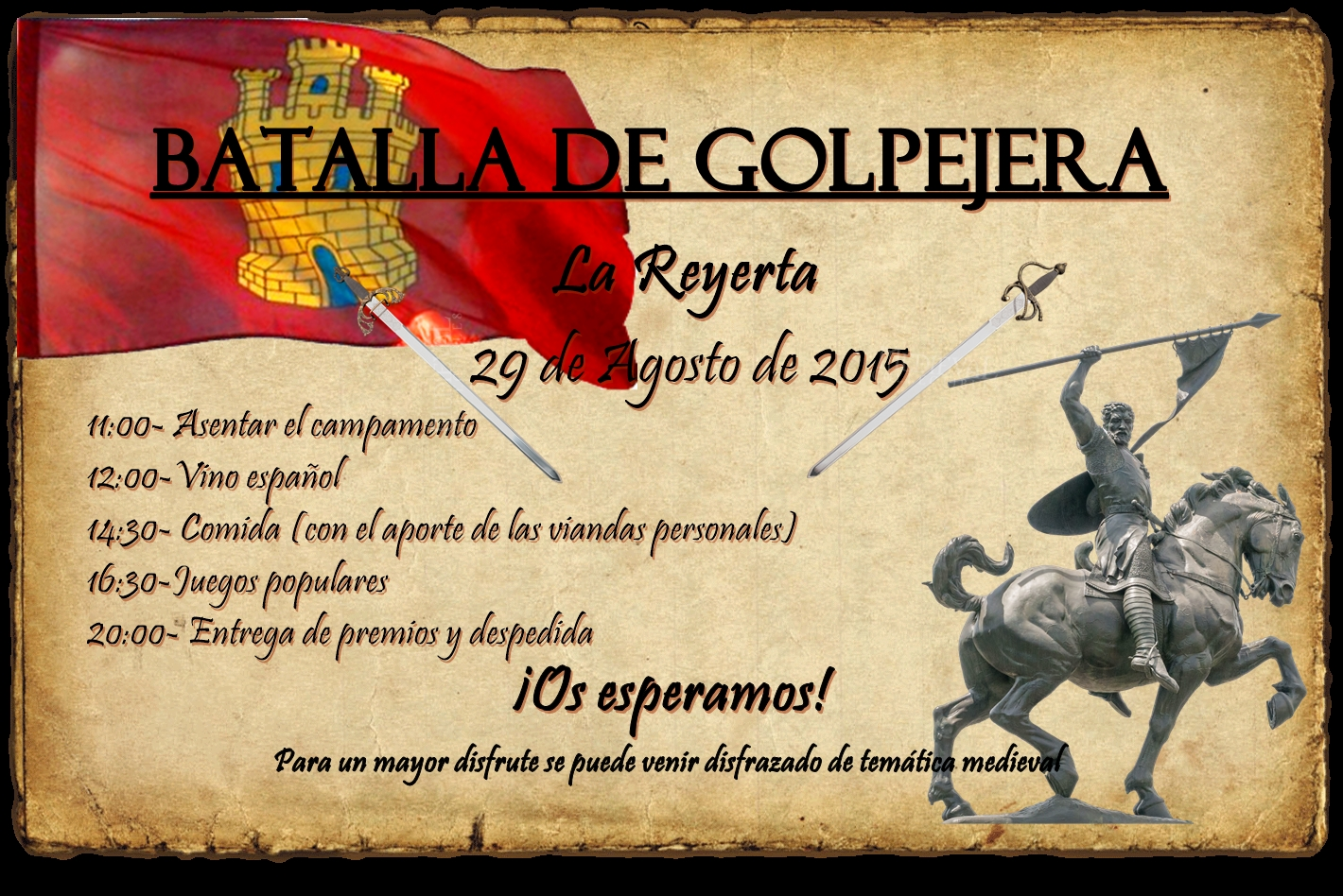 Sábado 29 de agosto, Fiesta de la Reyerta