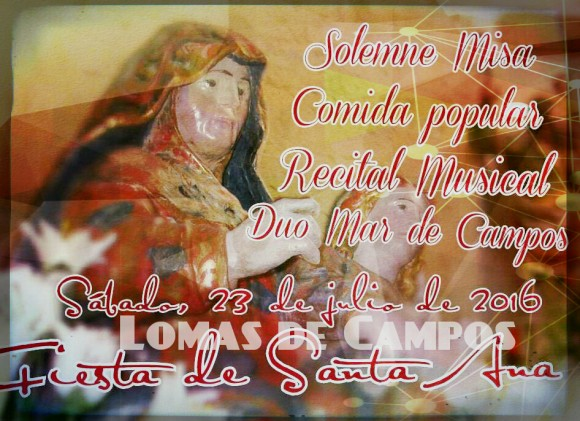 Cartel Fiesta Santa Ana 2016