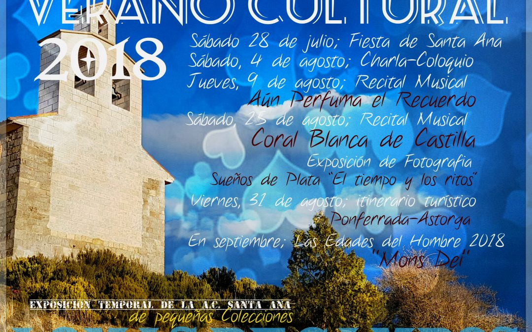 Programa del Verano Cultural 2018